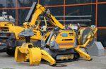 Новый робот-экскаватор для автономной работы в тяжелых условиях