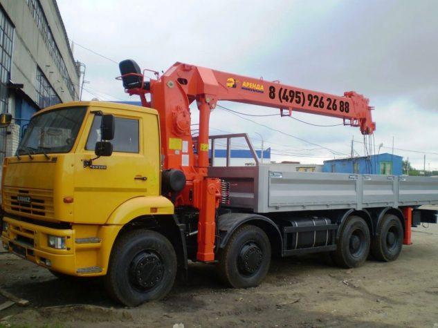 Манипулятор 6540 Камаз 12 тонн
